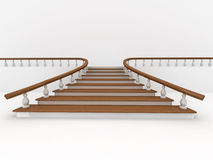 Abstract background. Stairs Stock Images
