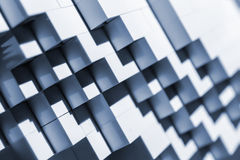 Abstract background with stairway shape. Royalty Free Stock Images