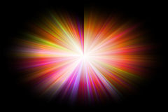 Abstract background with star burst Stock Photography