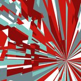 Abstract Background of Star Burst Royalty Free Stock Photos