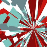 Abstract Background of Star Burst Stock Photo