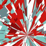 Abstract Background of Star Burst Royalty Free Stock Image