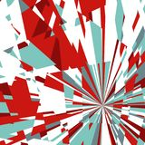 Abstract Background of Star Burst Stock Image