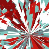Abstract Background of Star Burst. Abstract Dynamic Background, Fractal Explosion Star, Sunburst Background Stock Image