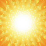Abstract background of star burst - eps10 vector Royalty Free Stock Photos