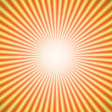 Vector abstract background of star burst rays. Vector abstract background of orange star burst rays Stock Image