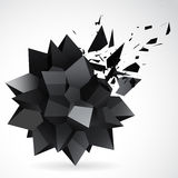 Abstract Background star exposion Stock Photo