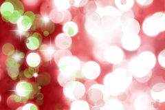 Abstract background. Abstract starry green and red background Stock Photography