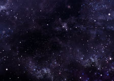 Abstract  background starry sky Stock Image