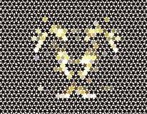 abstract background stars Διανυσματική τέχνη συνδετήρων Στοκ Εικόνες