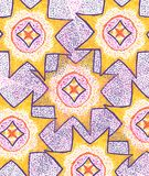 abstract background stars Πορφυρή και κίτρινη απεικόνιση Χρυσό σχέδιο σχεδίου πολυτέλειας φόντο εορταστικό Ελεύθερη απεικόνιση δικαιώματος