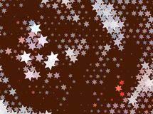 abstract background stars Στοκ Εικόνες