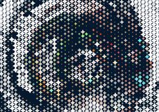 abstract background stars Στοκ εικόνες με δικαίωμα ελεύθερης χρήσης
