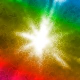 Abstract background with stars. Abstract colorful background with flash and stars Stock Images