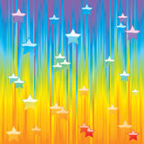 Abstract background with stars. Stock Images