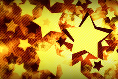 Abstract background of stars Royalty Free Stock Photography