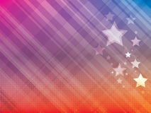 Abstract background with stars Royalty Free Stock Image