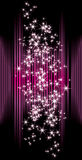 Abstract background with stars Royalty Free Stock Photo