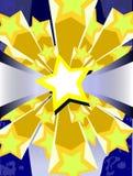 abstract background stars Στοκ Φωτογραφία