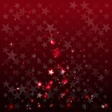 Abstract background with stars. Red. Flash of light. Vector illustration vector illustration