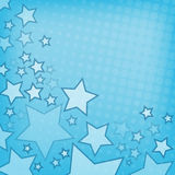 Abstract background with stars Stock Images