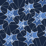 Abstract Background - Stars Royalty Free Stock Photo