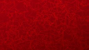 Abstract background of stars. Abstract background of randomly arranged contours of stars in red colors Stock Illustration