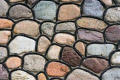 Abstract background of stone masonry. Abstract background of masonry with a large stone Royalty Free Stock Photos