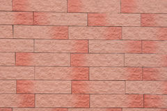 Abstract background of stone masonry. Abstract background of masonry red Stock Image