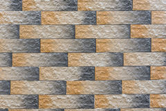 Abstract background of stone masonry. Abstract masonry background two colors Stock Photography