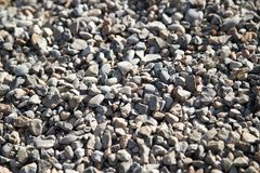 Abstract background of stone rubble. Photo of an abstract texture Stock Images