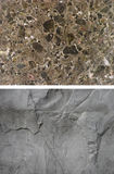 Abstract background of stone set of two elements Royalty Free Stock Photo