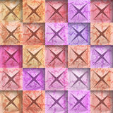 Abstract background stone squares. Vector Illustration Stock Illustration