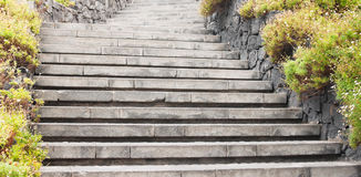 Abstract background with stone stairs Stock Images