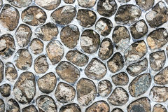 Abstract background of stone wall texture. Royalty Free Stock Photo