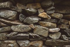 Abstract background of stone wall texture. Copy space. Can use as banner stock photos
