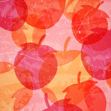 Abstract Background with Strawberries Stock Photos