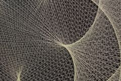 Abstract background of string of threads taken royalty free stock image