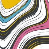 abstract background striped επίσης corel σύρετε το διάνυσμα απεικόνισης Στοκ φωτογραφίες με δικαίωμα ελεύθερης χρήσης