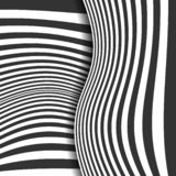abstract background striped μαύρο λευκό επίσης corel σύρετε το διάνυσμα απεικόνισης ελεύθερη απεικόνιση δικαιώματος
