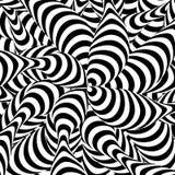 abstract background striped Σπειροειδές φαινόμενο δίνης Γραπτή ύπνωση, ακτίνες Οπτική απεικόνιση τέχνης Στοκ εικόνα με δικαίωμα ελεύθερης χρήσης