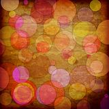 Abstract background. Of striped retro circles Stock Photos