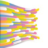 Abstract background with stripes. Abstract background with color stripes Vector Illustration