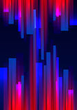 Abstract a background with stripes and glowing lines.Vector. Art vector illustration