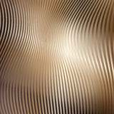 Abstract background with stripes. Metallic Gold Royalty Free Stock Photos