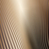 Abstract background with stripes. Metallic Gold Stock Images