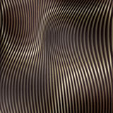 Abstract background with stripes. Metallic Gold Royalty Free Stock Image