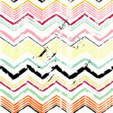 Abstract background. With strokes and splashes, zigzag pattern Stock Photo
