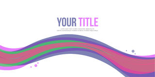 Abstract background style banner collection Royalty Free Stock Photos