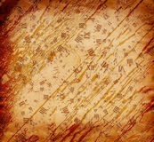 Abstract background in the style of mixed media Royalty Free Stock Photo